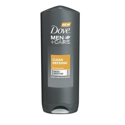Dove Men+Care Clean Defense Body And Face Wash