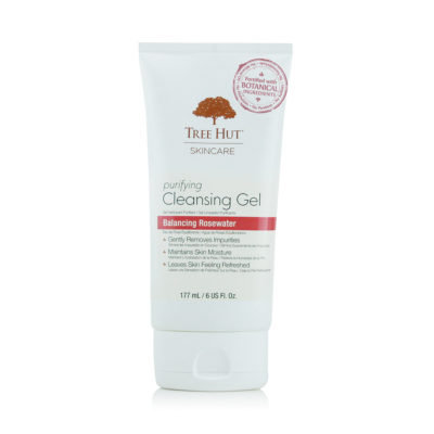 Tree Hut Skincare Purifying Cleansing Gel Balancing Rosewater