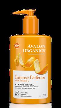 Avalon Organics Intense Defense With Vitamin C Cleansing Gel