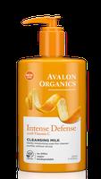 Avalon Organics Intense Defense With Vitamin C Cleansing Milk