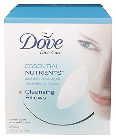 Dove Essential Nutrients Cleansing Pillows