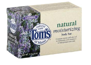 Tom's OF MAINE Natural Moisturizing Body Bar Lavender