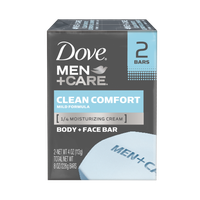 Dove Men+Care Clean Comfort Body And Face Bar