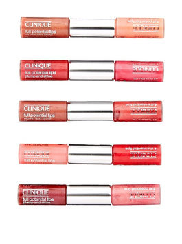 Clinique 5 Piece Full Potential Lips Mini Duo Collection Set