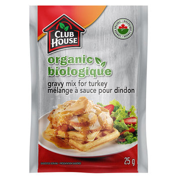 Club House Organic Gravy Mix For Turkey
