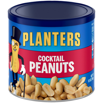 Planters Cocktail Peanuts Can