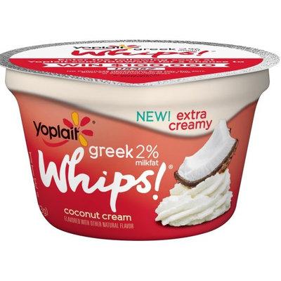 Yoplait® Greek 2% Whips!® Low Fat Coconut Cream Yogurt Mousse