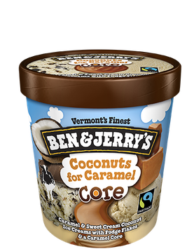Ben & Jerry's® Coconuts For Caramel Core Ice Cream