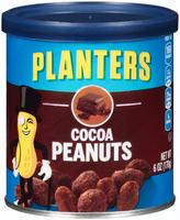 Planters Cocoa Peanuts Can