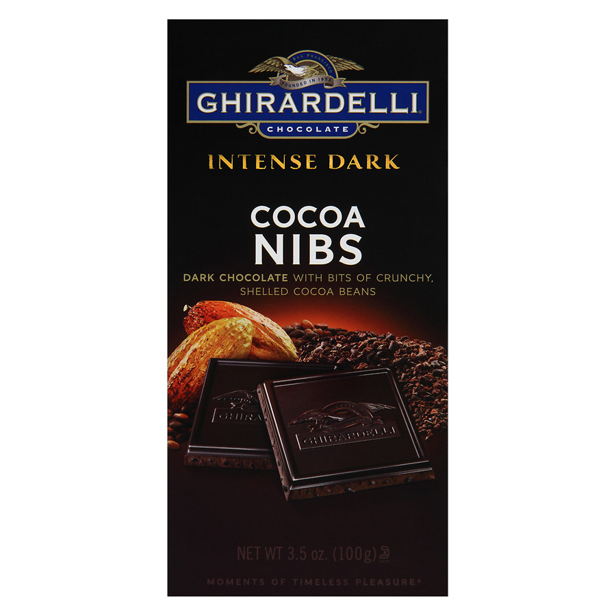 Ghirardelli Chocolate Intense Dark Cocoa Nibs Bar