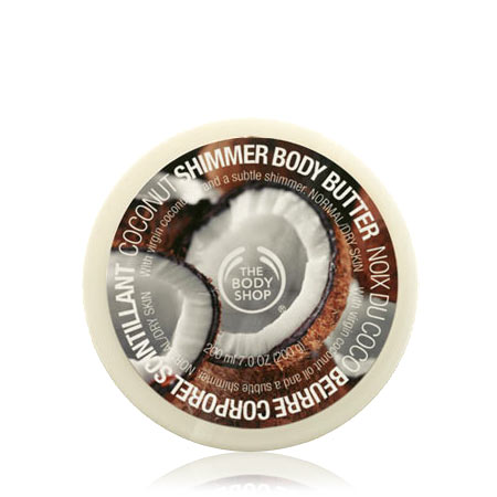 THE BODY SHOP® Coconut Shimmer Body Butter
