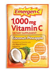 Emergen-C 1,000 mg Vitamin C Coconut Pineapple