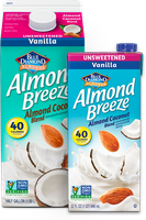 Almond Breeze® Almondmilk Almond Coconut Unsweetened Vanilla
