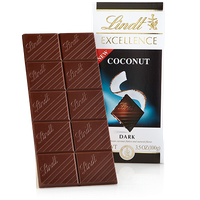 Lindt Dark Coconut Excellence Bar