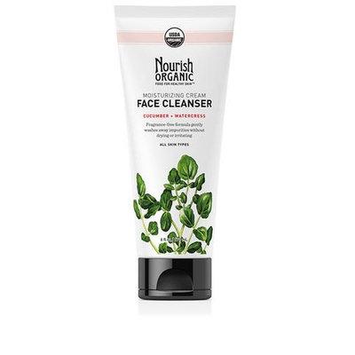 Nourish Organic™ Moisturizing Cream Face Cleanser Cucumber + Watercress