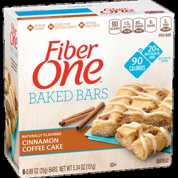 Fiber One 90 Calorie Cinnamon Coffee Cake Bars
