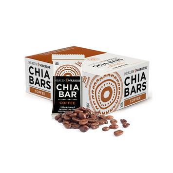 Health Warrior Chia Bars Coffee, One Size