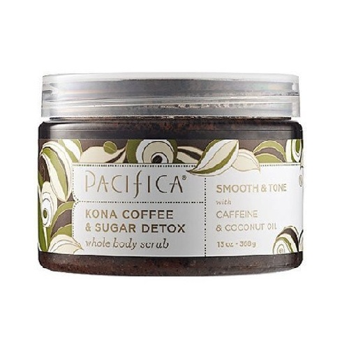 Pacifica Kona Coffee & Sugar Detox Whole Body Scrub