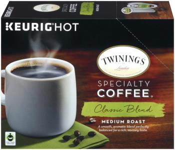 TWININGS® OF London Classic Blend MEDIUM ROAST Coffee K-Cup® Pods