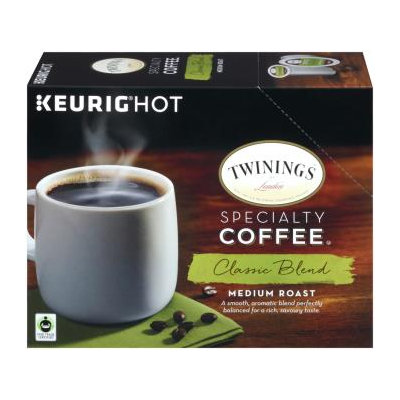 TWININGS® OF London Classic Blend MEDIUM ROAST Coffee K-Cup® Pods