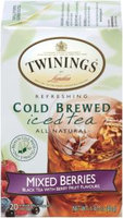 Twinings® Mixed Berries Cold Brewed Iced Tea