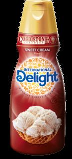 International Delight Gourmet Coffee Creamer Cold Stone Creamery Sweet Cream