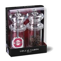 Cole & Mason 505 Acrylic Salt and Pepper Mill Set
