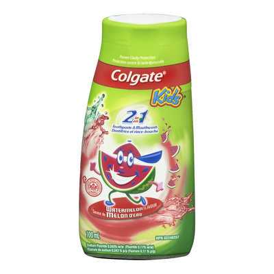 Colgate Kids 2in1 Toothpaste, Watermelon