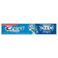 Crest Complete Whitening Plus Scope Dual Blast Toothpaste