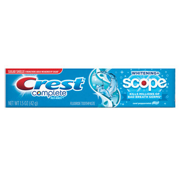 Crest Complete Whitening Plus Scope Cool Peppermint Toothpaste