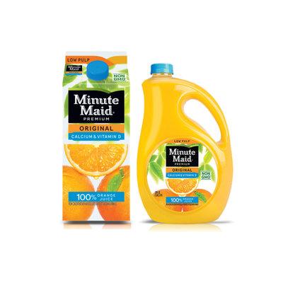 Minute Maid® 100% Premium Original Orange Juice with Calcium & Vitamin D