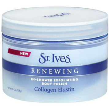 St. Ives Renewing Collagen Elasting In-Shower Exfoliating Body Polish