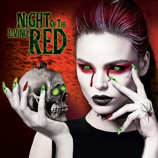 SinfulColors Night of the Living Red Collection
