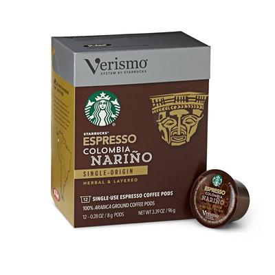 Starbucks Colombia Nari o Espresso Verismo Pods Coffee
