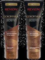 Revlon ColorSilk Shampoo & Conditioner Gorgeous Brunette