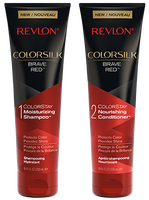 Revlon ColorSilk Shampoo & Conditioner Brave Red