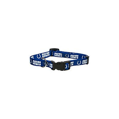 Hunter Indianapolis Colts NFL Dog Collar (Adjustable From 18