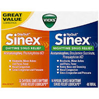 DayQuil™ NyQuil™ Sinex™ Sinus Relief LiquiCaps™ Co-Pack