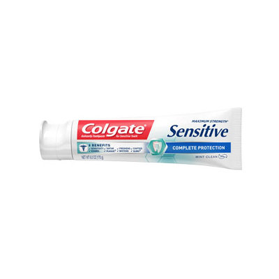 Colgate® Sensitive COMPLETE PROTECTION Toothpaste Mint Clean