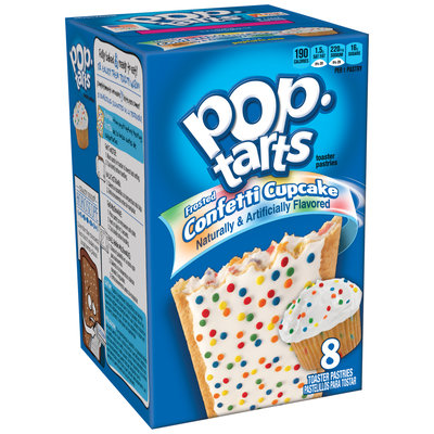 Kellogg's Pop-Tarts Frosted Confetti Cupcake Toaster Pastries
