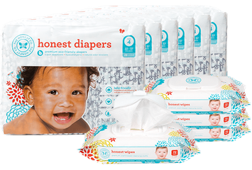 The Honest Company Diapers & Wipes Bundle