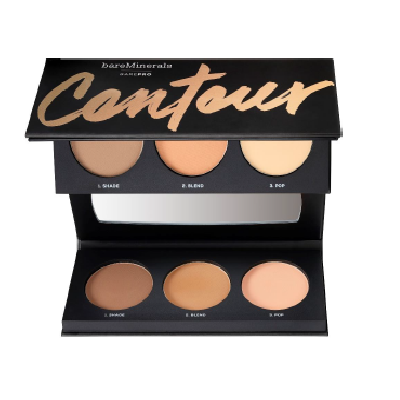 bareMinerals barePro® Contour Face-Shaping Powder Trio