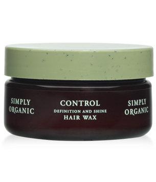Simply Organic Control Definition and Shine Hair Wax