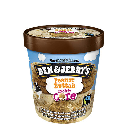 Ben & Jerry's® Peanut Buttah Cookie Core™ Ice Cream