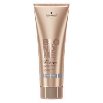 Schwarzkopf BLONDME Tone Enhancing Bonding Shampoo - Cool Blonde