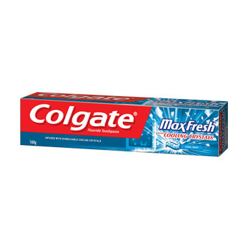 Colgate® MaxFresh® with COOLING CRYSTALS Toothpaste Cool Mint
