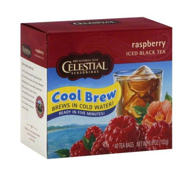 Celestial Seasonings® Cool Brew Raspberry Iced Black Tea