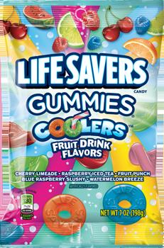 Life Savers Gummies Coolers Fruit Drink Flavors