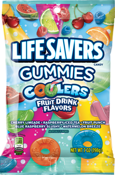 Life Savers Gummies Coolers Fruit Drink Flavors