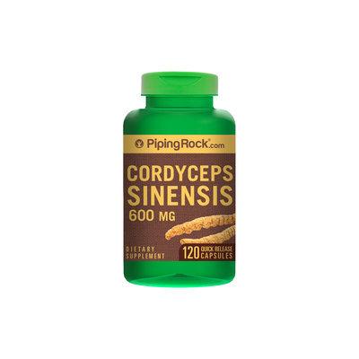 Nutritional Concepts Cordyceps Sinensis Mushroom 600mg 120 Capsules
